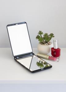 KAILA Sminkspegel Fold III Svart - 12x8 cm