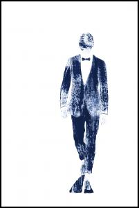 Pinstriped suit Poster