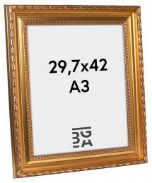 Ram Birka Premium Guld 29,7x42 cm (A3)
