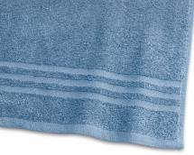 Badhandduk Basic Frotté - Mellanblå 65x130 cm