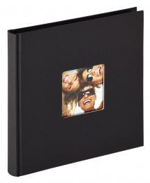 Fun Album Svart - 18x18 cm (30 Svarta sidor / 15 blad)