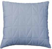 Sammet Quilt Kuddfodral Duvblå 45x45 cm
