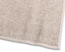 Handduk Stripe Frotté - Sand 50x70 cm