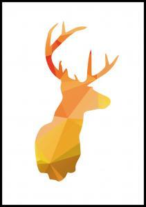 Deer - Höstfärger Poster