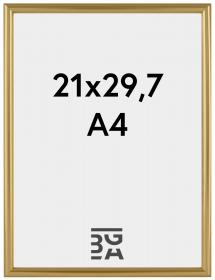 Decoline Guld 21x29,7 cm (A4)
