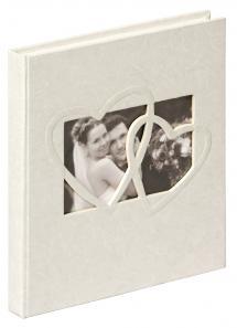 Sweet Heart Gästbok - 23x25 cm (144 Vita sidor / 72 blad)