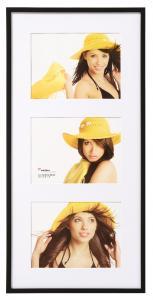 New Lifestyle Collageram Svart - 3 Bilder (15x20 cm)