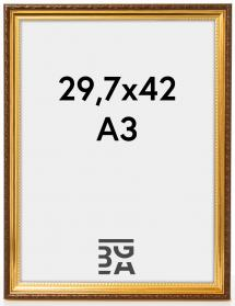 Abisko Guld 29,7x42 cm (A3)