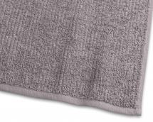 Badhandduk Stripe Frotté - Grå 65x130 cm