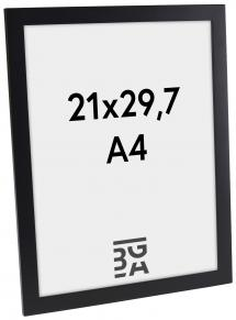 Ram Stockholm Svart 21x29,7 cm (A4)