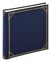 Kvadrat Blå - 30x30 cm (100 Vita sidor / 50 blad)