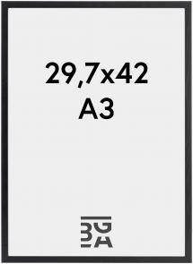 Ram Galant Akrylglas Svart 29,7x42 cm (A3)
