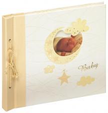 Babyalbum Bambini Maxi Creme - 28x25 cm (60 Vita sidor / 30 blad)