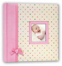 Kara Babyalbum Rosa - 200 Bilder i 11x15 cm