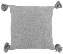 Kuddfodral Tassle - Grå 45x45 cm
