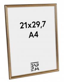 Ram Horndal Guld 21x29,7 cm (A4)