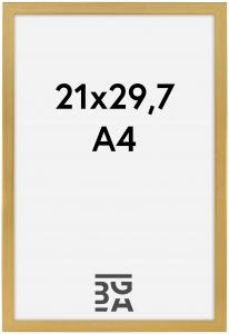 Frame Gold 21x29,7 cm (A4)