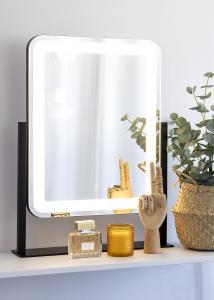 KAILA Sminkspegel III Svart - 45x60 cm