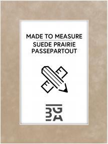 Passepartout Suede Prairie - Måttbeställd