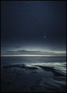 Night at the sea Poster