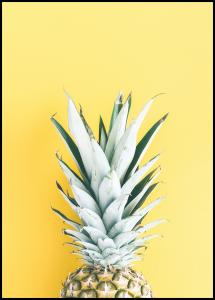 Pineapple Yellow Poster
