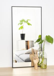Spegel Narrow Svart 40x80 cm