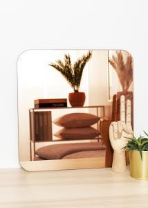 KAILA Spegel Square Rose Gold 40x40 cm
