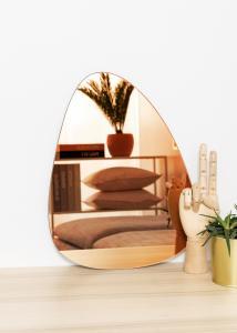 KAILA Spegel Shape I Rose Gold 30x40 cm