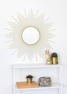 KAILA Spegel Star - Guld 90x90 cm