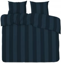 Påslakanset Big Stripe Satin Kingsize 3-delat - Marin