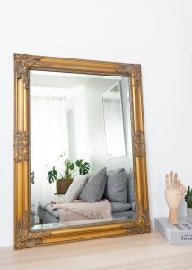 Spegel Bologna Guld 50x70 cm