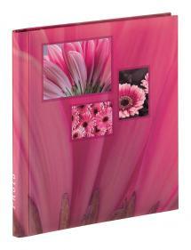 Singo Album Självhäftande Rosa (20 Vita sidor / 10 blad)
