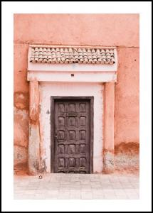 Marocco-pastell Poster