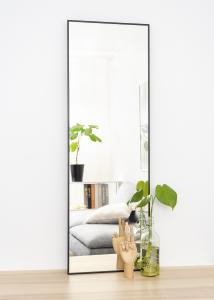 Spegel Narrow Svart 40x120 cm