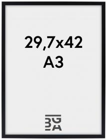 Edsbyn Svart 29,7x42 cm (A3) ramar