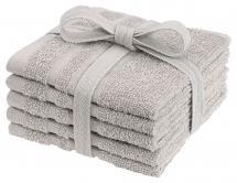 Tvättlapp Basic Frotté - Sand 25x25 cm 5-pack