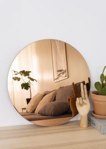 KAILA Rund Spegel Rose Gold 50 cm Ø