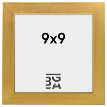 Fotoram Guld 2A 9x9 cm