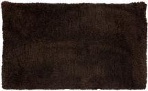 Badrumsmatta Zero - Barkbrun 60x60 cm