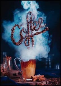 Smell the coffee Poster