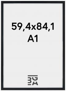 Stilren Akrylglas Svart 59,4x84,1 cm (A1)
