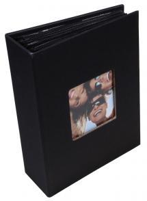 Fotoalbum Fun Svart - 100 Bilder i 10x15 cm