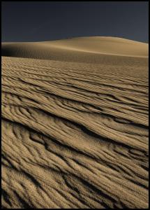 Rivulets Of Sand Poster