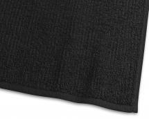 Handduk Stripe Frotté - Svart 50x70 cm