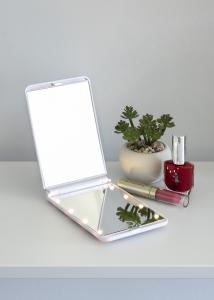 KAILA Sminkspegel Fold III Vit - 12x8 cm