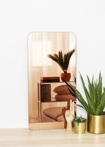 KAILA Spegel Rectangle Rose Gold 40x80 cm