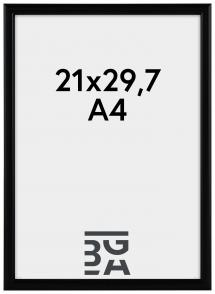 Ram Newline Svart 21x29,7 cm (A4)
