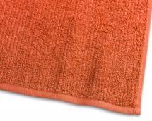 Gästhandduk Stripe Frotté - Orange 30x50 cm