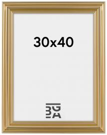 Charleston Guld 30x40 cm