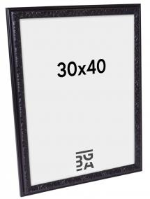 Nostalgia Svart 30x40 cm